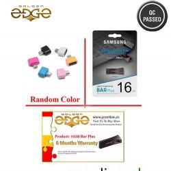 USB Samsung Flash Drive Metal - 16GB BAR Plus Black