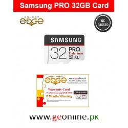 Memory Card Samsung 32GB PRO 100MB/Sec  Micro SD China