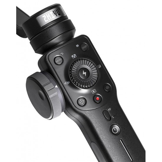 Stabilizer Zhiyun Smooth 4 Stabilizer Handheld Gimbal PhoneGo Mode - BLACK