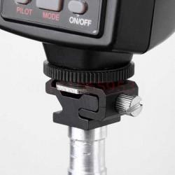 1/4 Screw To Hot Shoe Mount Metal Adapter
