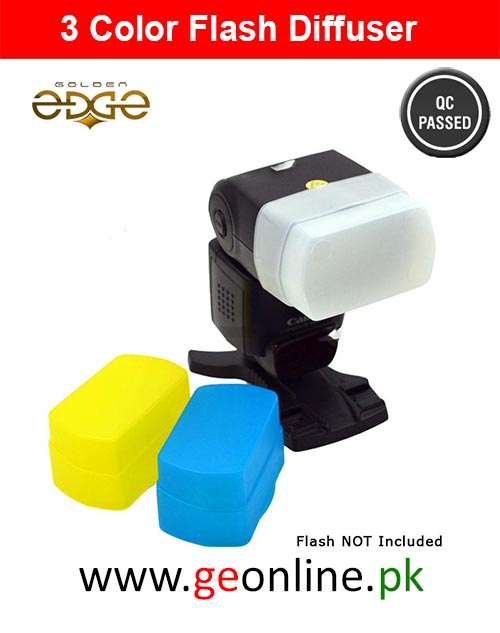Flash Diffuser 3 Colors Camera 430 EX