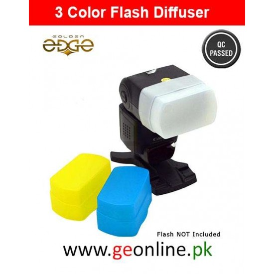 Flash Diffuser 3 Colors For DSLR Camera SHANNY SN600SC