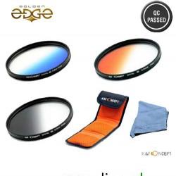 Lens Filter 77MM Graduated Blue, Orange, Grey
