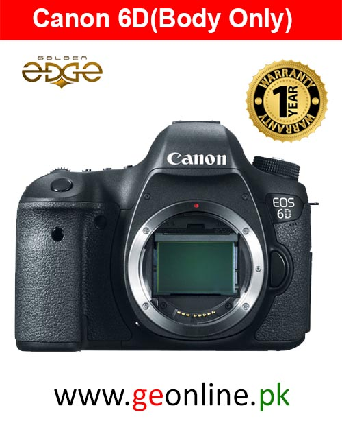 Canon EOS 6D (Body Only) 1 Year Warranty