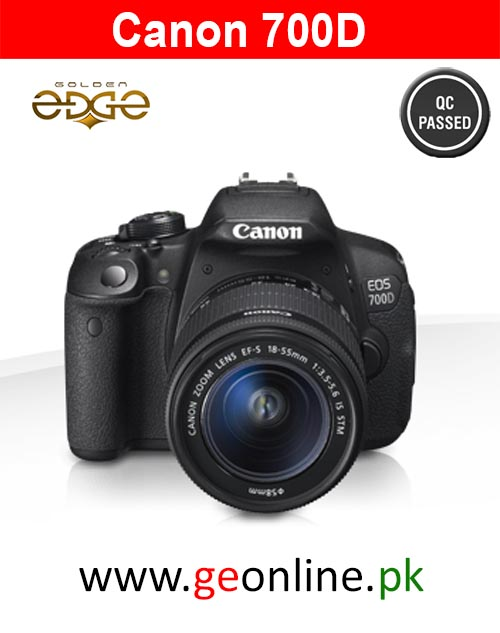 Canon 700D With 18-55 IS   (1 Year  Warranty)