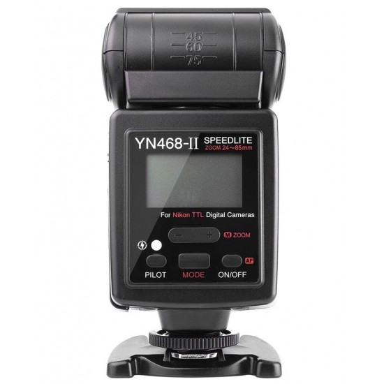Flash Yongnuo YN-468 II i-TTL Speedlite Flash With LCD Display, for Nikon Canon