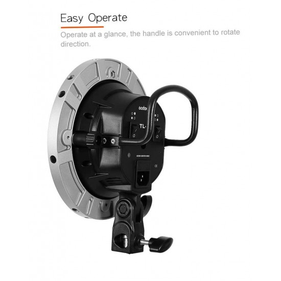 Godox E27  Bulb And Softbox Holder 4 in 1 TL-4