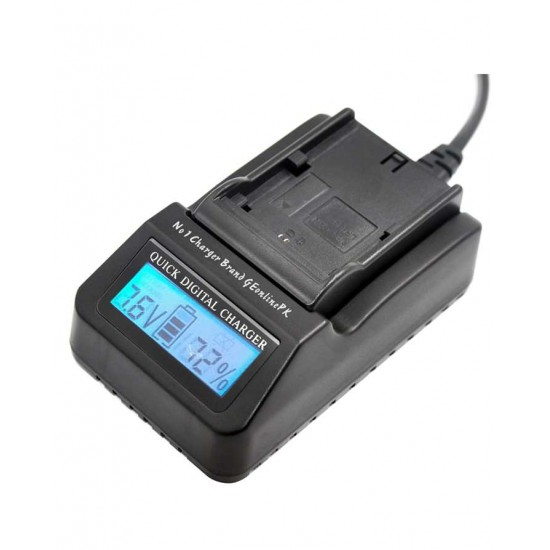 Charger Jmray LP-E6 LPE6 Digital LCD Quick Replace Charger For Canon LP-E6, LC-E6 EOS 60D, EOS 70D, EOS 5D II Battery Charger