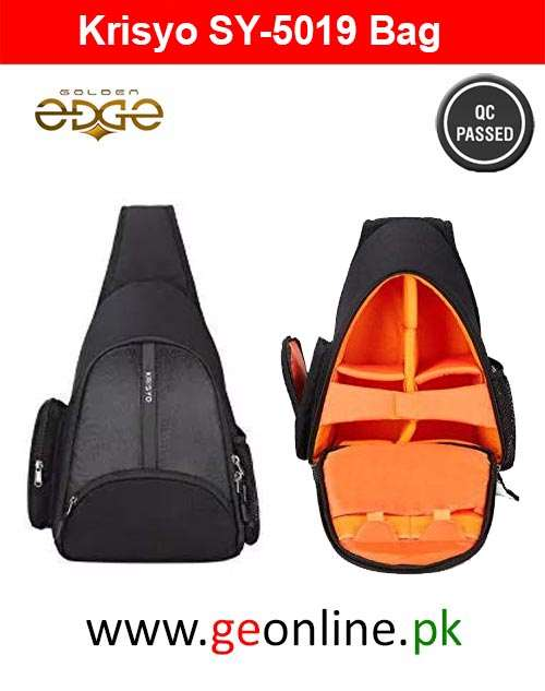 Backpack Krisyo - Sling Style for DSLR Cameras - Anti Shock - Waterproof - Breathable (Sling Model)