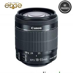 Lens Canon EF-S 18-55mm IS STM + Petal Hood + UV Filter