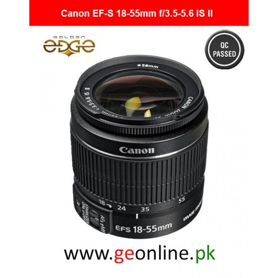 Lens Canon EF-S 18-55mm f/3.5-5.6 IS II Lens+Petal Hood