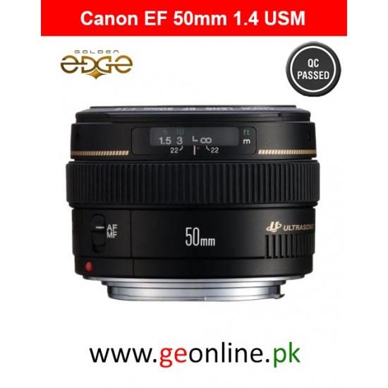 Lens Canon EF-50mm 1.4 USM