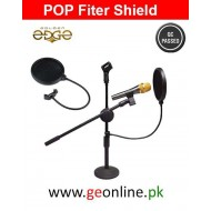 Pop Filter Double Layer For Studio Microphone Mic Wind Filter
