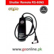 Shutter Remote Canon Switch RS-80N3 5DS 5DSR 7D / 5D Mark II III IV / 6D 50D 40D / 1DX Mark II / 1D Mark IV