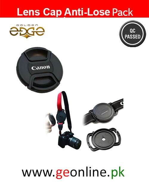 Canon Lens Cap+ Anti Lose 40mm 49mm 62mm