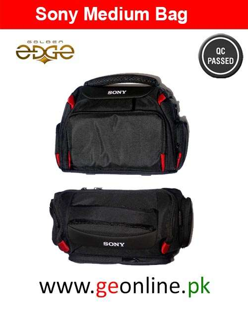 Bag Sony Stylish  EOS Mid Size With Raincoat