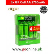 Battery AA GP Power 2700mAh Rechargeable 8 Cell Pack