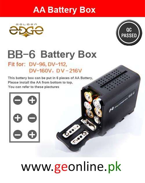 AA Cell Battery Box Case