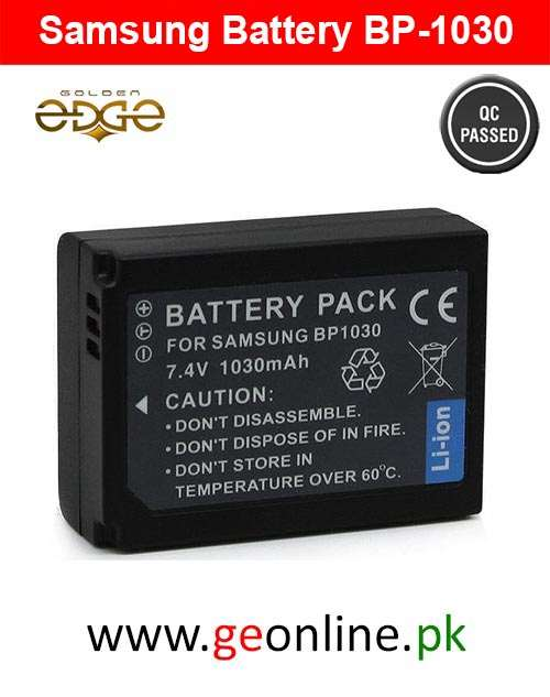 Battery Samsung BP-1030 For NX200,NX210,NX300,NX500,NX1000,NX1100,NX2000,NX-300M