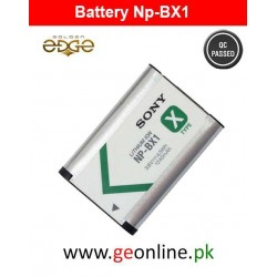 Battery SONY  NP-BX NPBX1 Pack Hdr-As100V Action Cam As15 As30V Dsc-Rx100 Hx400 Wx350