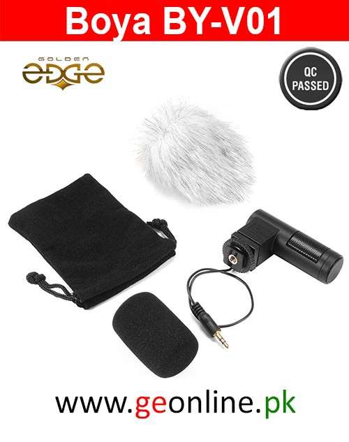Mic Boya BY-V01 Lavalier Collar Microphone for DSLR or Cameras