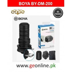 Mic BOYA BY-DM200 For Iphone Vlogging And Youtube Creation