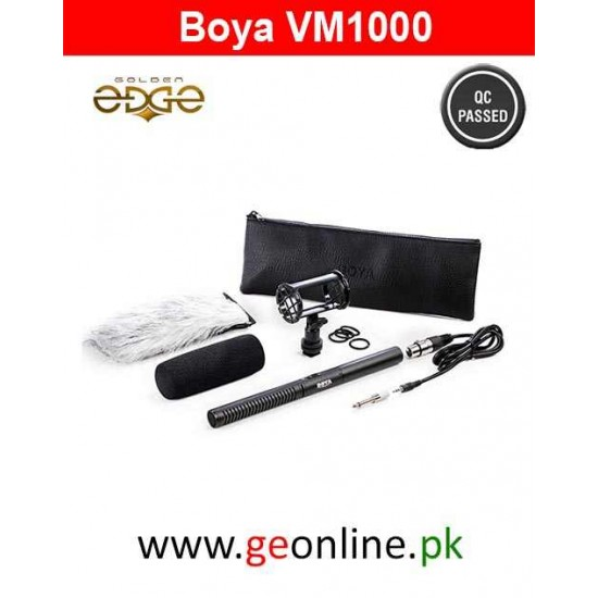 BOYA BY-PVM1000 On-Camera Video Microphone Youtube Vlogging Recording Professional