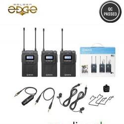 Mic BOYA BY-WM8 Pro-K2 UHF Dual-Channel Wireless Lavalier System 1 Year Warranty