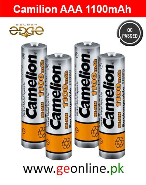 Battery AAA Camelion 1100mAh 4 Cell Pack
