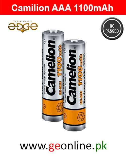 Battery AAA Camelion 1100mAh 2 Cell Pack