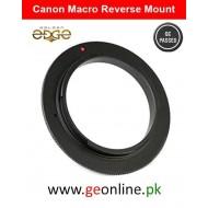 Macro Reverse Adapter CANON 58mm