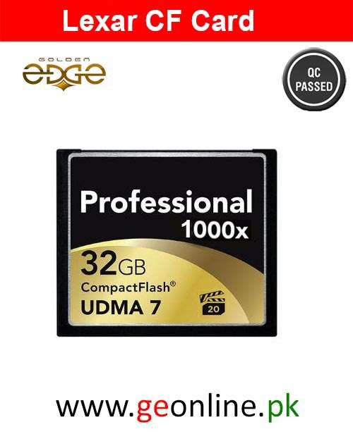 Memory Card Professional CF 1000X (120MB/s) 32GB
