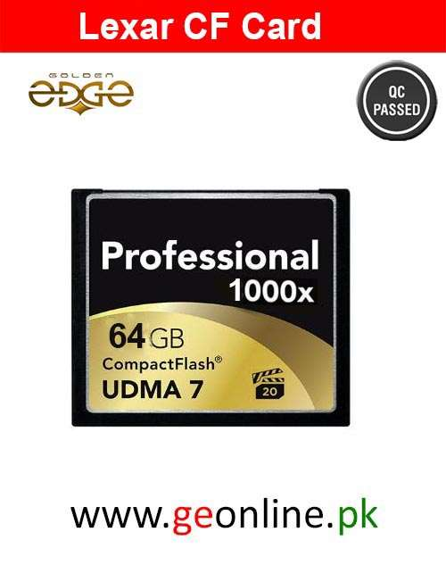 Memory Card Professional CF 1000X (120MB/s) 64GB