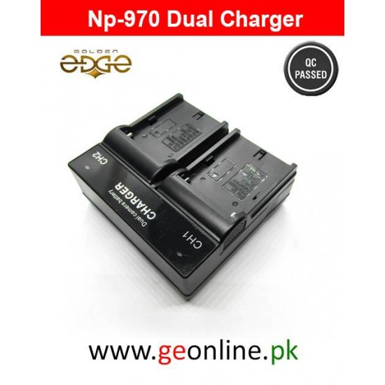 Charger Sony NP-970 LED Rapid Dual