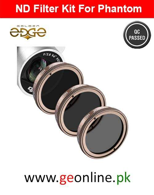 DJI Phantom  3 4 Pro Advance ND Filter Kit ND16/ND32/ND64 Multi-Coated Gold