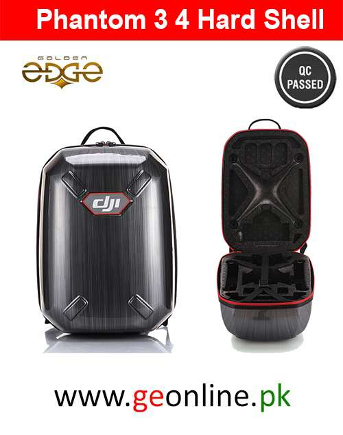 DJI Phantom 3 4 Backpack Bag Carrying Case Hardshell