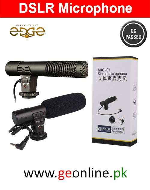 Mic DSLR Video BC Master Mic-01 Stereo Microphone