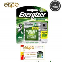 Battery AA Energizer Rechargeable 4 Cell Pack 2000mAh With 1 Year Warranty