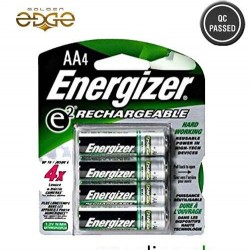 Battery AA Energizer Rechargeable 4 Cell Pack 2500mAh