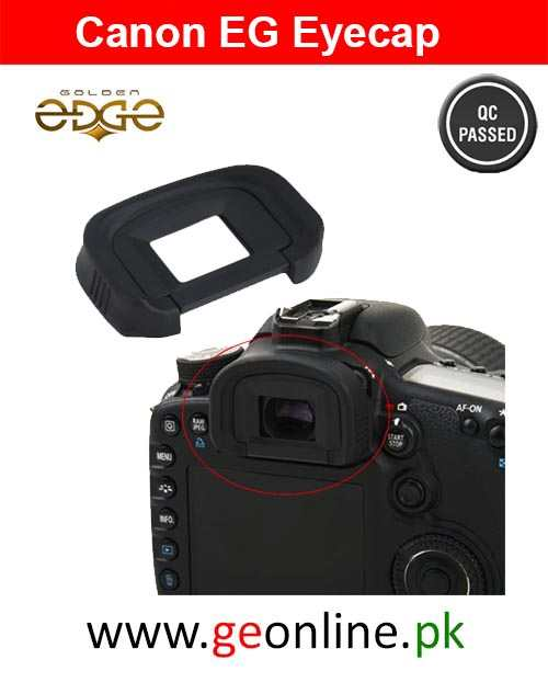 Eyepiece Canon EG For EOS-1D Mark III/IV, EOS-1D X, EOS-1Ds Mark III, EOS 7D, and EOS 5D Mark III
