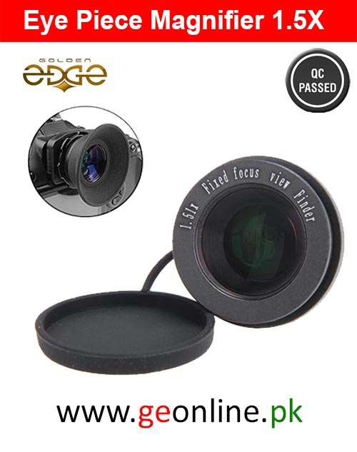 Eyepiece Universal (Viewfinder) Magnifier 1.5 Fixed