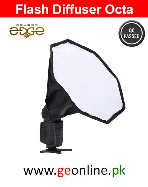 Flash Diffuser Universal Fordable Octagonal