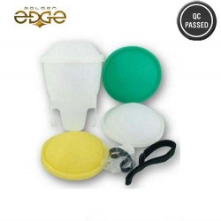 Flash Diffuser Lambency PIXCO Universal  With 3 Color Dooms White Green Yellow
