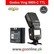 Flash Godox Ving 860II-C Battery Lion TTL Flash for Canon Auto