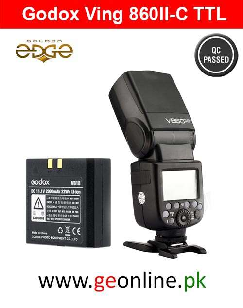 Flash Godox Ving 860II-C Battery Lion TTL Flash for Canon Auto