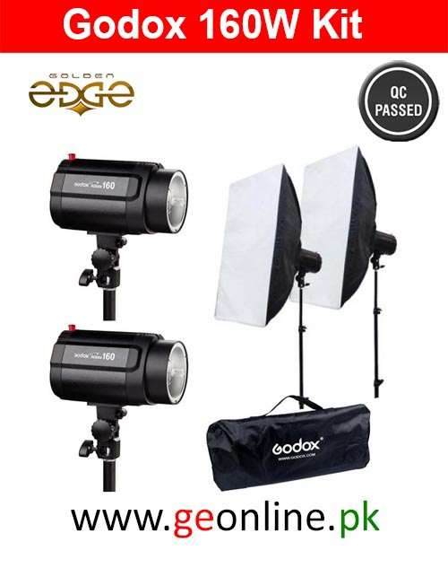 GODOX Mini Pioneer 160W Studio Lighting Strobe Kit