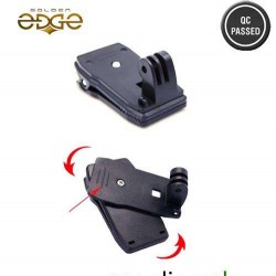 GoPro 360 Degree Quick Release Rotary Backpack Hat Clip