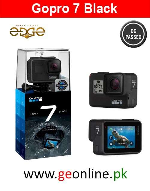 GoPro Hero 7 4K Video Action Camera For Sports Black