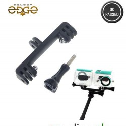 Gopro Double Dual Sport Camera Holder Handle Grip Monopod Mount