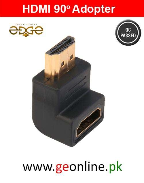 HDMI 90 Degree Male to Female Adapter Converter